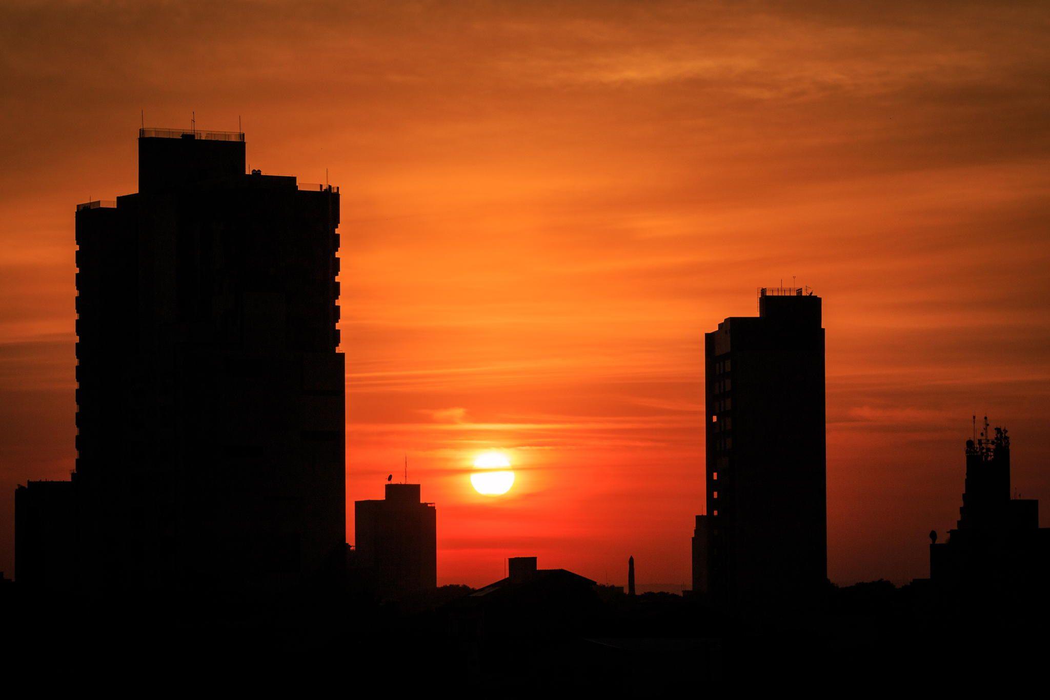 Sunrise in Sorocaba - Sunrise in Sorocaba