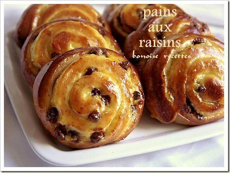 pain aux raisins maison ingr dients pour la p te 250 gr. Black Bedroom Furniture Sets. Home Design Ideas