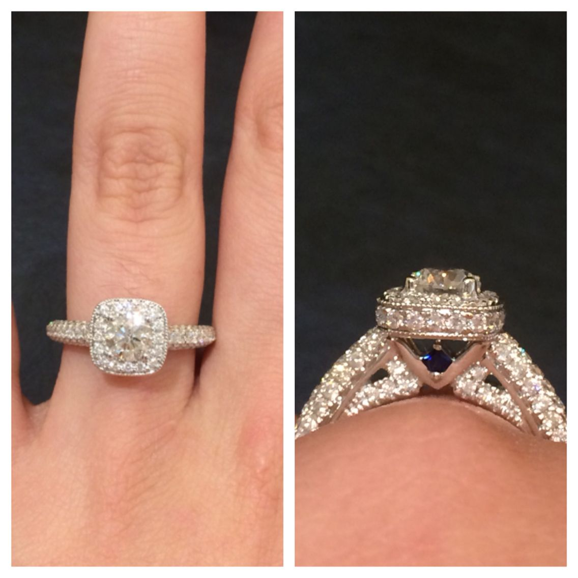 My Beautiful Vera Wang Love Collection Engagement Ring. 1