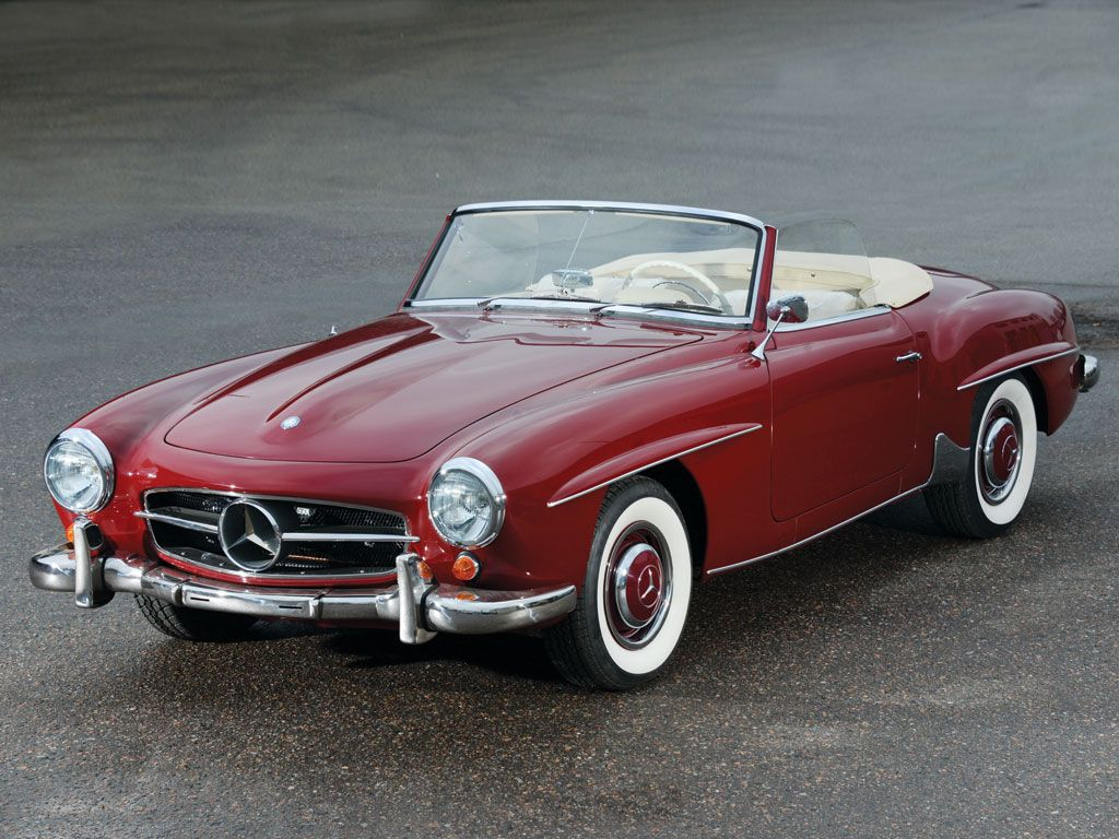 1960 Mercedes Benz 190 Sl Roadster Con Imagenes Coches