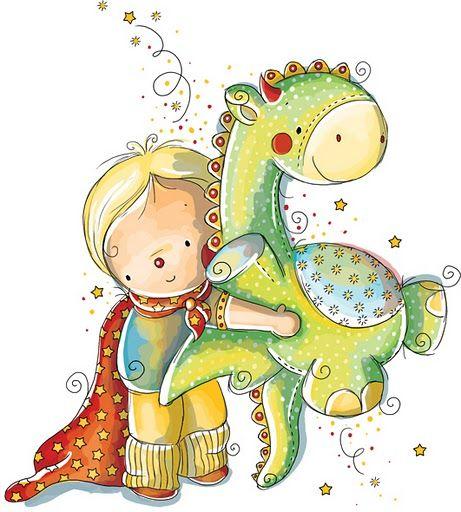 Imagenes bonitas de niños y niñas para imprimir. Unas ilustraciones ...