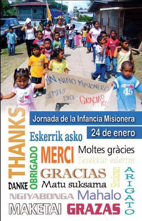 JORNADAS DE LA IGLESIA: Fichas Jornada de la Infancia misionera 2016
