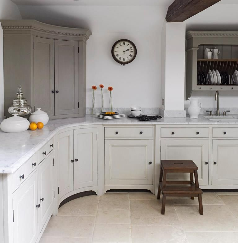 chalon kitchen - I like the grey and white cabinets and ...