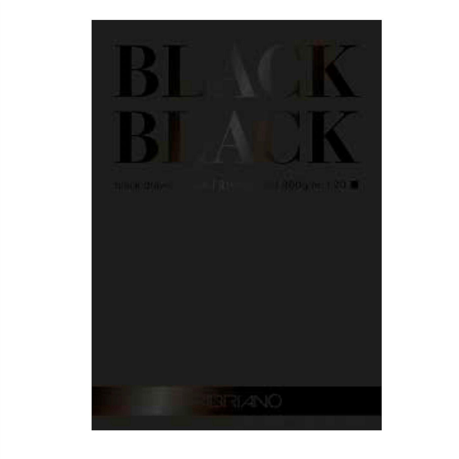 Fabriano Black Black Drawing Paper Pad A3 20 Sheets 300gsm Paper
