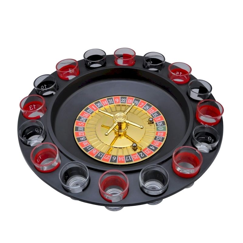 how to play roulette drinking game