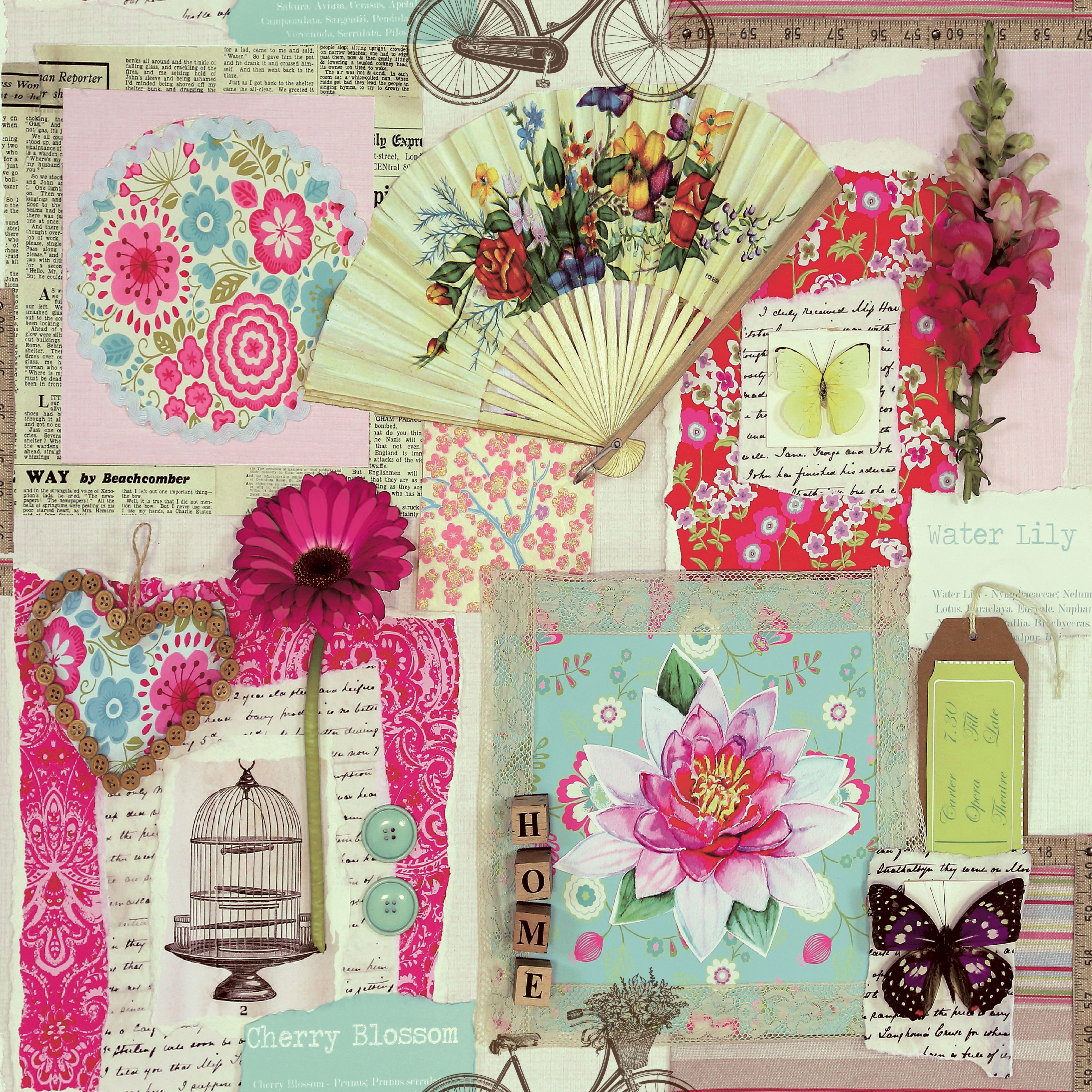 Colours Scrapbook Collage Wallpaper Scrapbook Collage And Wallpaper