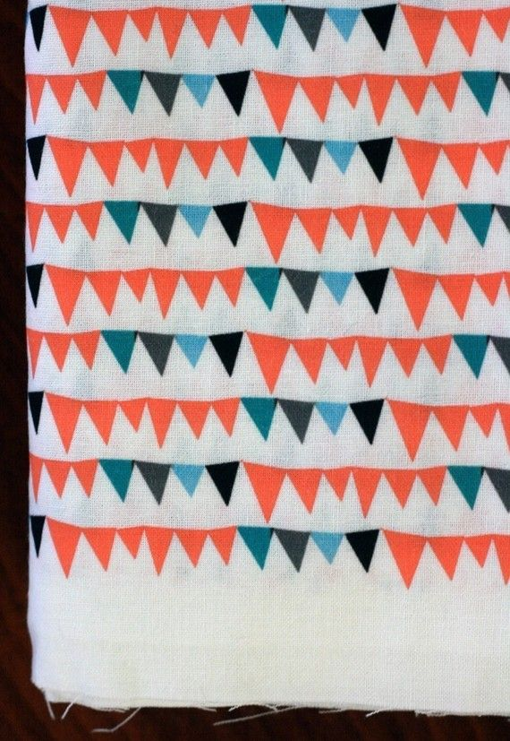 Circus Bunting Fat Quarter Quilting Weight Cotton by boosterseat ... : quilt weight cotton - Adamdwight.com