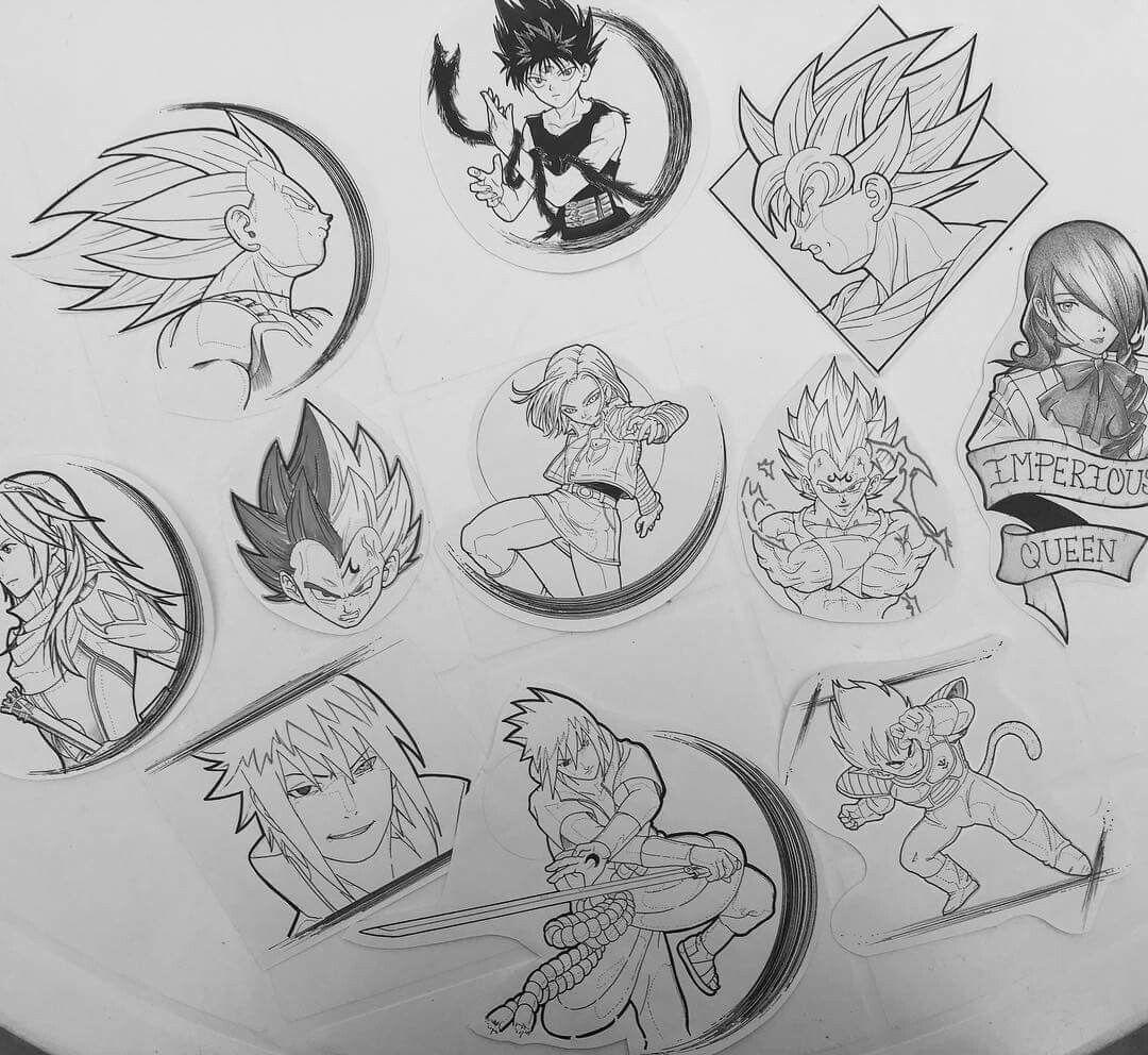 Gotenks Tattoo Design by Hamdoggz | DBZ SP | Pinterest | Tattoo ...