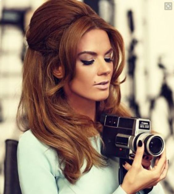 Frisuren Der 60Er Frauen Frisuren Frauen Pinterest Retro Hair