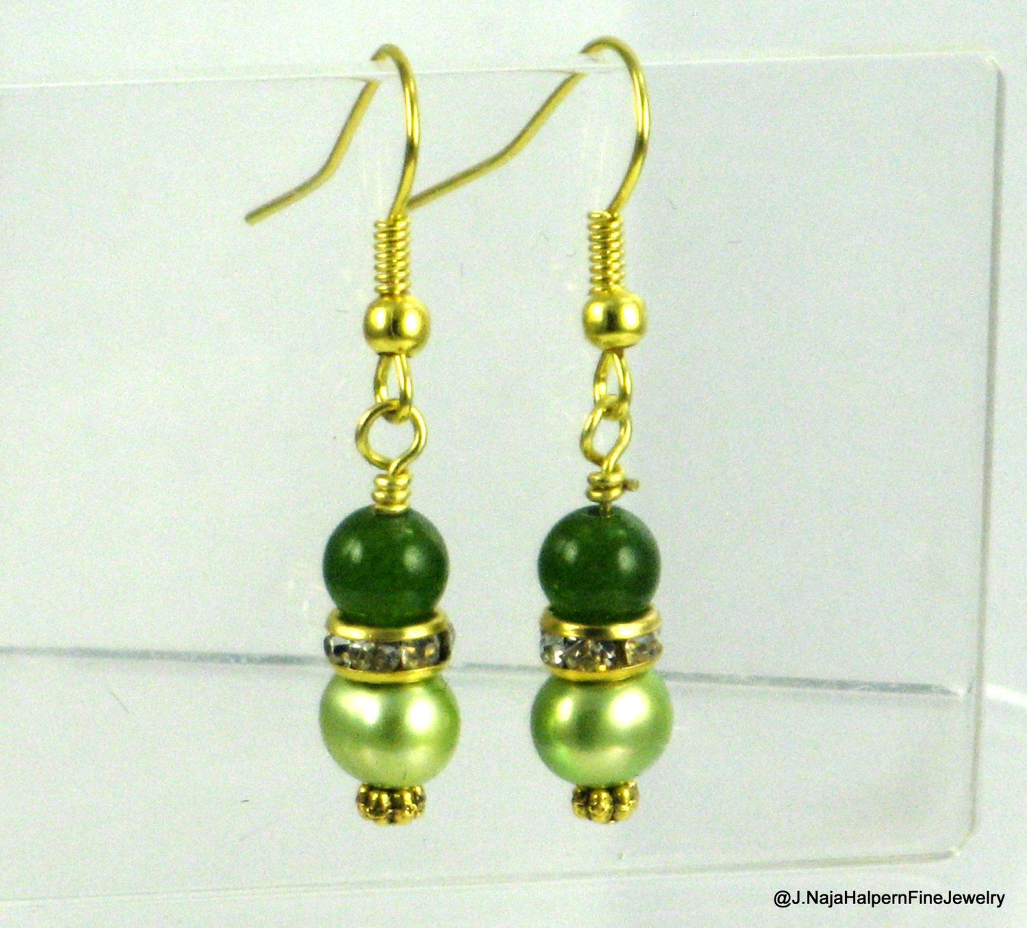 murano green click earrings ugo cavallo a glass and with orecc poggi pearls prodotti firenze bronze en