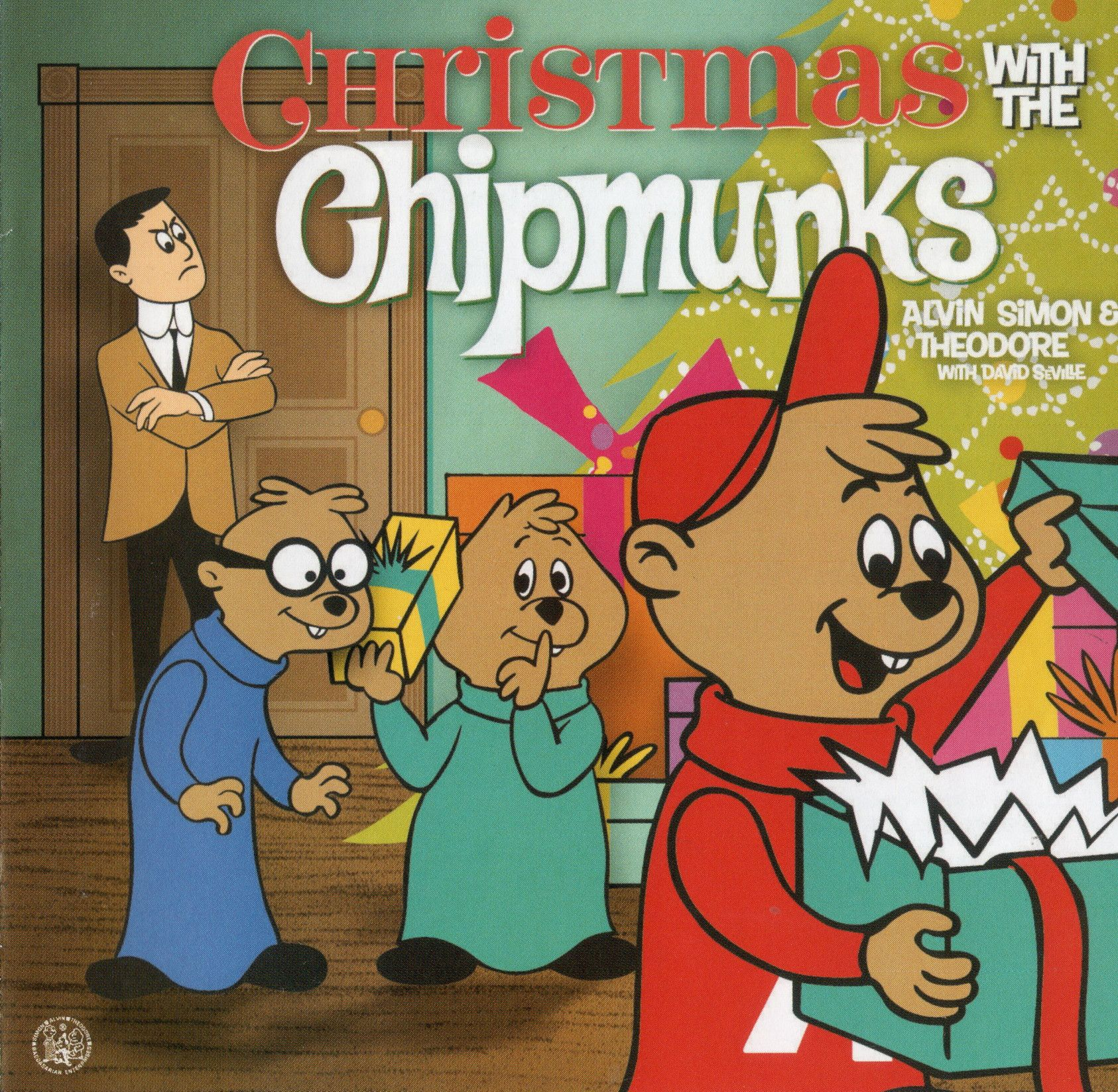 Christmas with the Chipmunks (1962/1963) Cover One of several ...