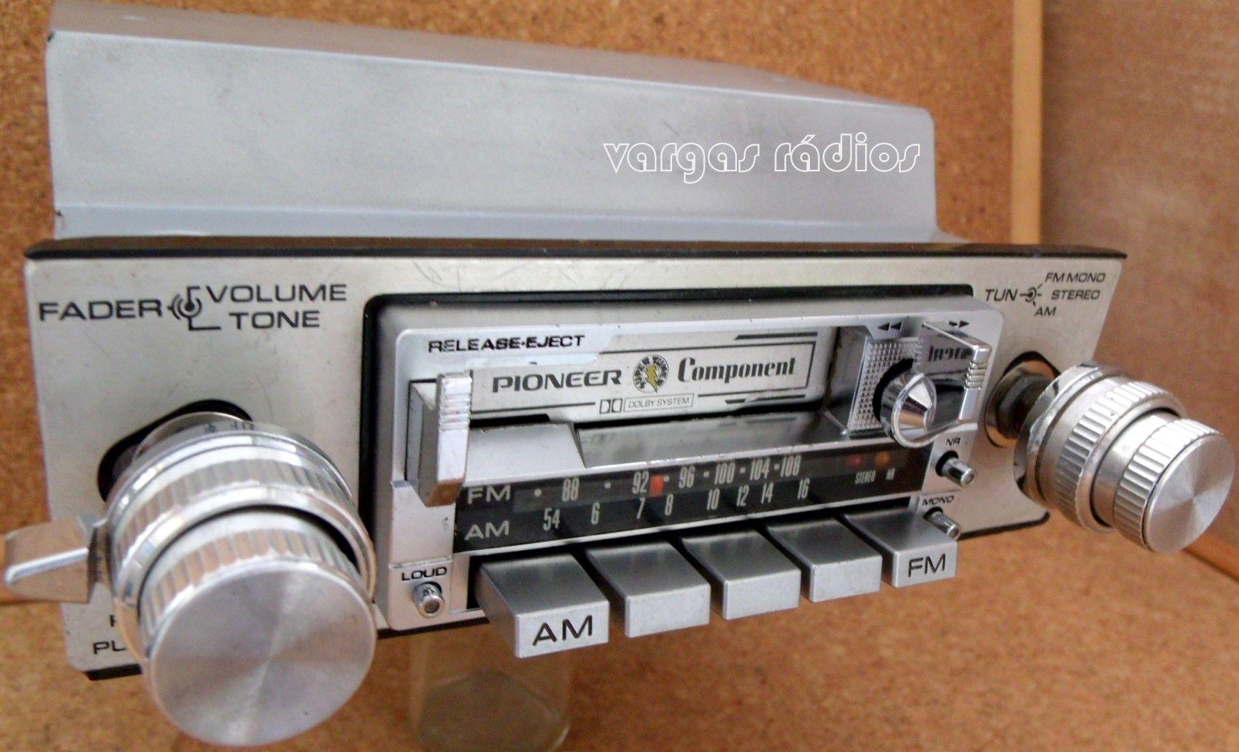 Pioneer Kpx 9500 Old School Car Audio Byvargasradios Em 2020