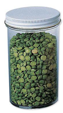 250 mL Plastic Jar w/Lids (Set of 8)