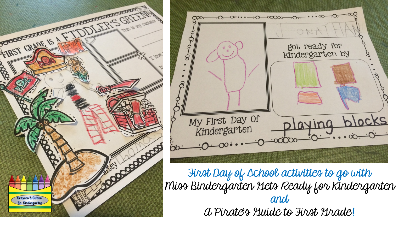First Day Of School Books And Activities