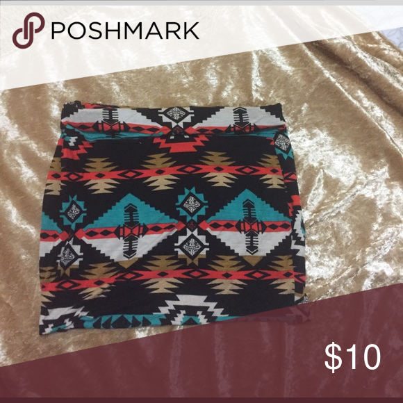 Tribal print mini skirt Really cool print mini skirt Skirts Mini