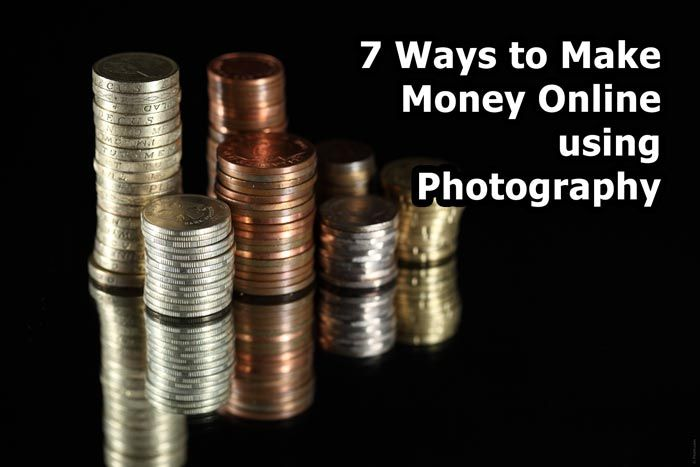7 Ways to Make Money Online using Photography http://www.tricky-photoshop.com/7-ways-make-money-online-using-photography/