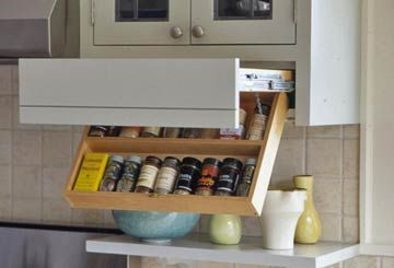 Pullout Kitchen Storage Ideas & Pullout Kitchen Storage Ideas | Swings Hiding places and Drawers