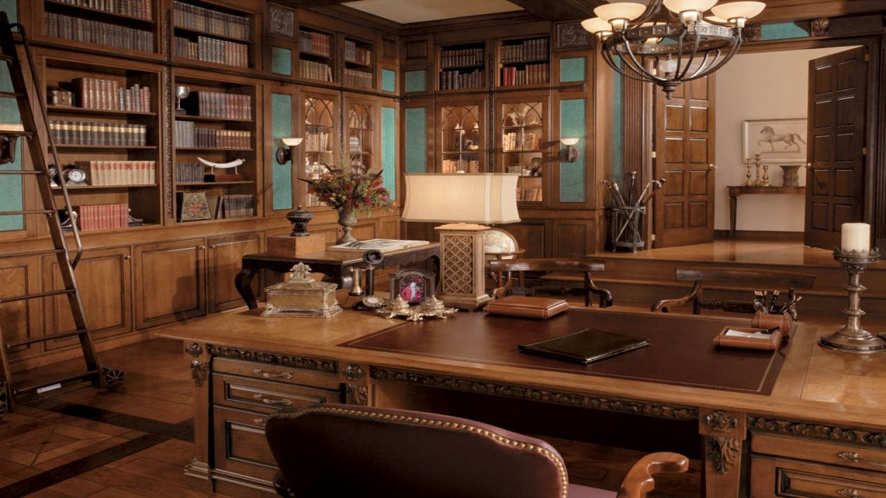 Alluring 25 Classic Home Office Design Decor