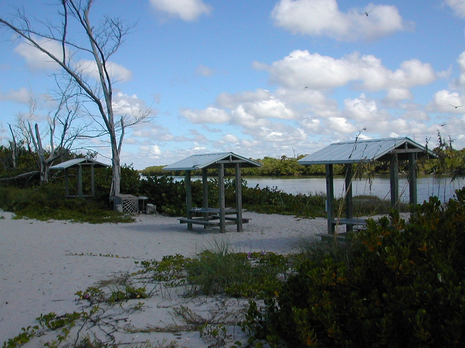 Stump Pass Beach State Park is located at the south end of ...