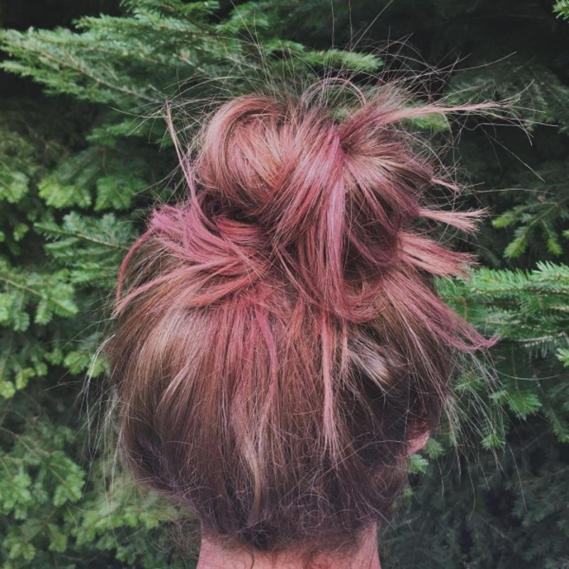 9 Temporary Ways To Color Your Hair Beauty Pinterest Hair