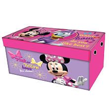 Minnie Mouse Collapsible Toy Chest - Idea Nuova - Toys  R  Us  sc 1 st  Pinterest & Minnie Mouse Collapsible Toy Chest - Idea Nuova - Toys