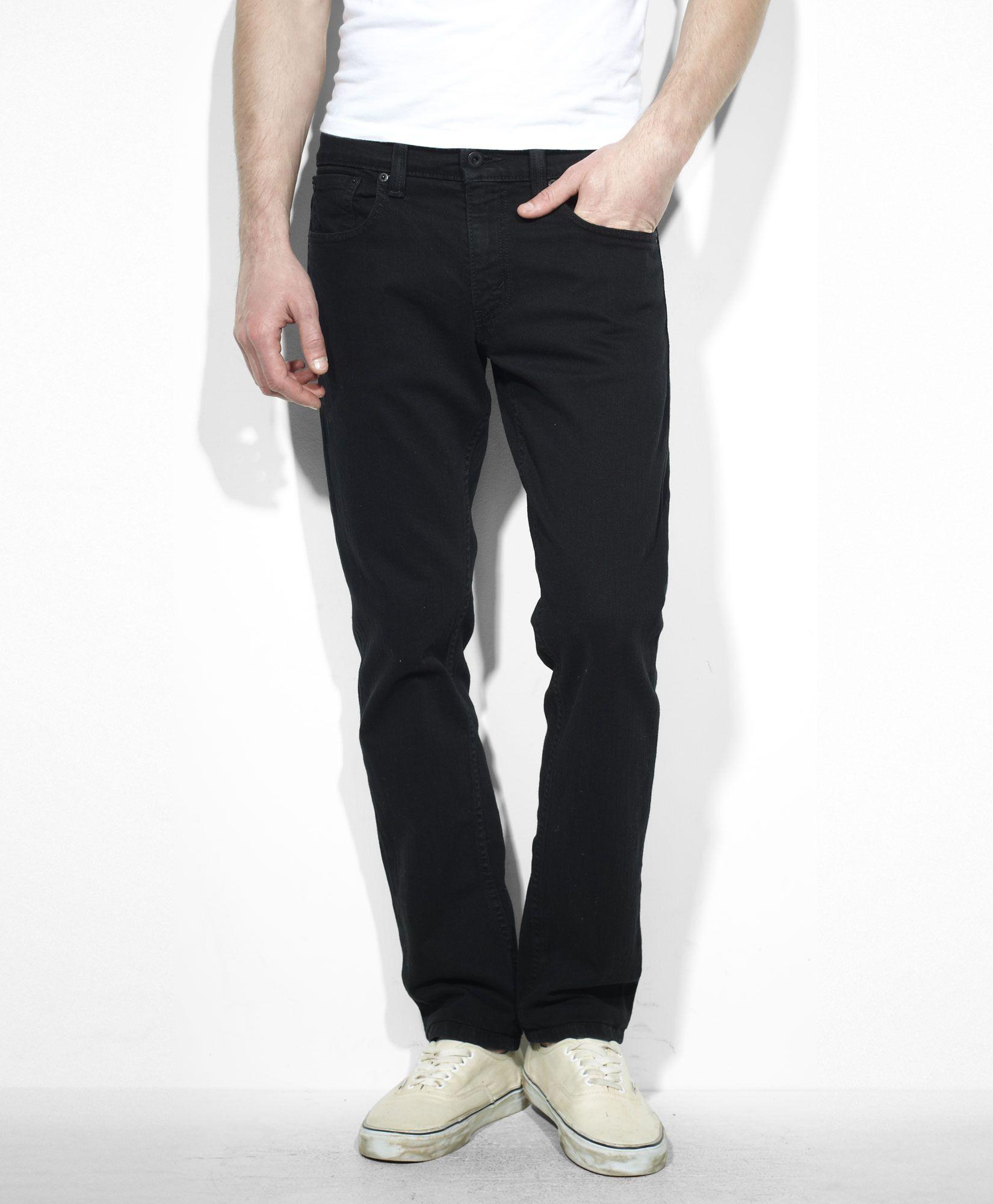 Levi's 511™ Slim Fit Jeans - Black Stretch - Jeans | material ...