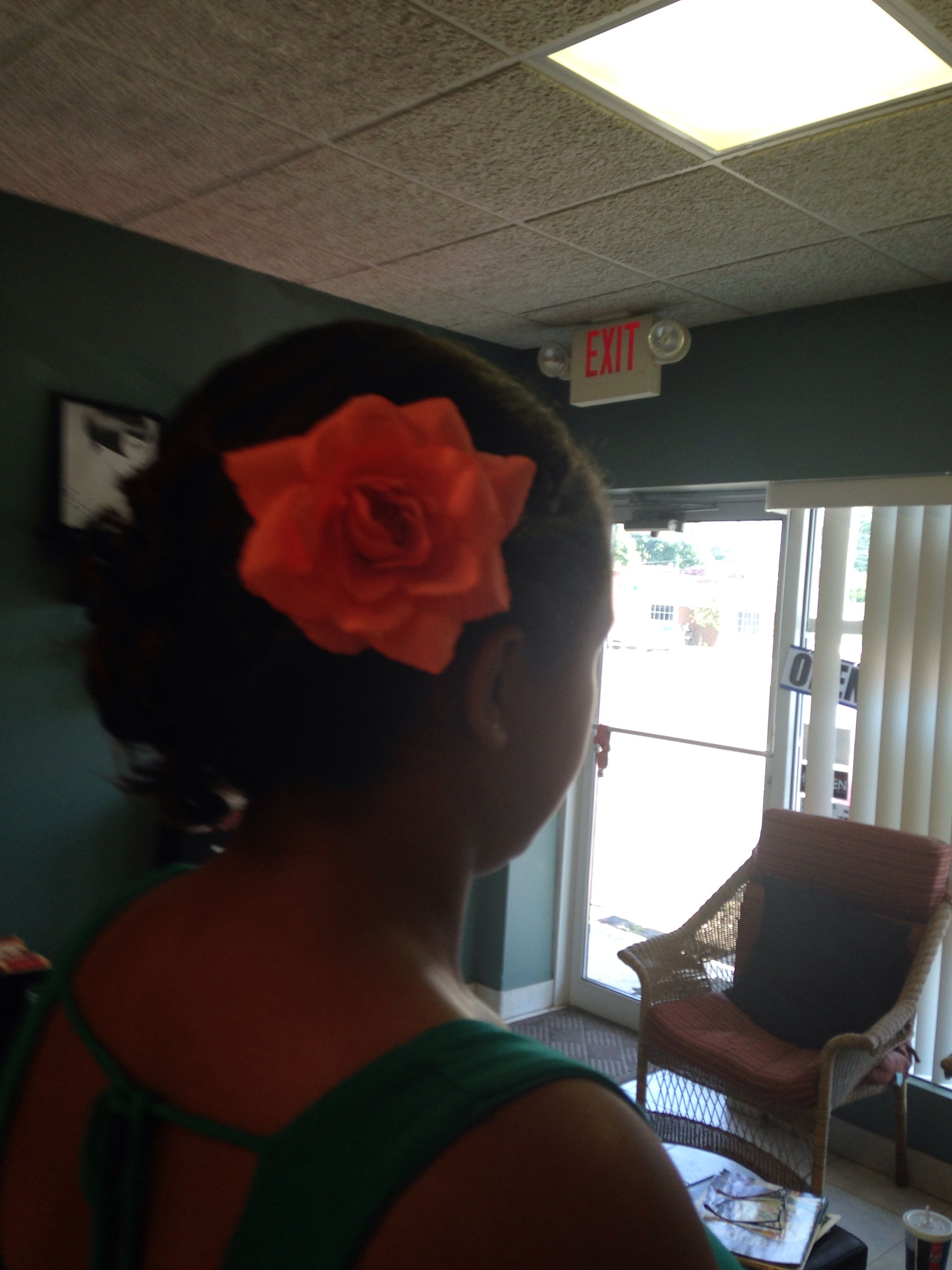 This is my hair for my th grade formal hair pinterest formal