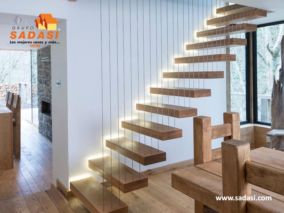 Decoracion las mejores casas de m xico uno de los tipos - Barandales modernos para escaleras ...