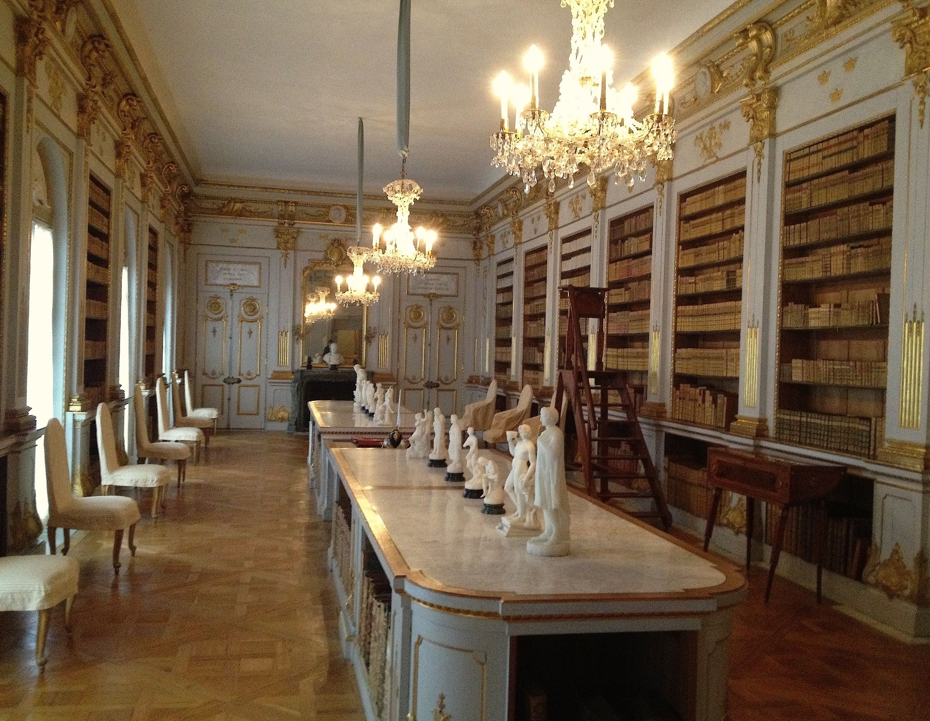 The queens library at drottningholm palace stockholm palace interior interior and exterior peles