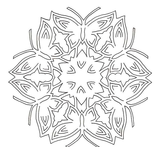Красивой открытки, киригами открытки снежинка