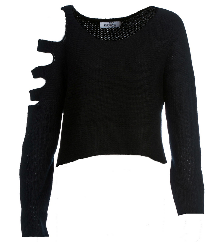 Slash Sweater-Super soft fabric with cool slashed shoulder detail ...