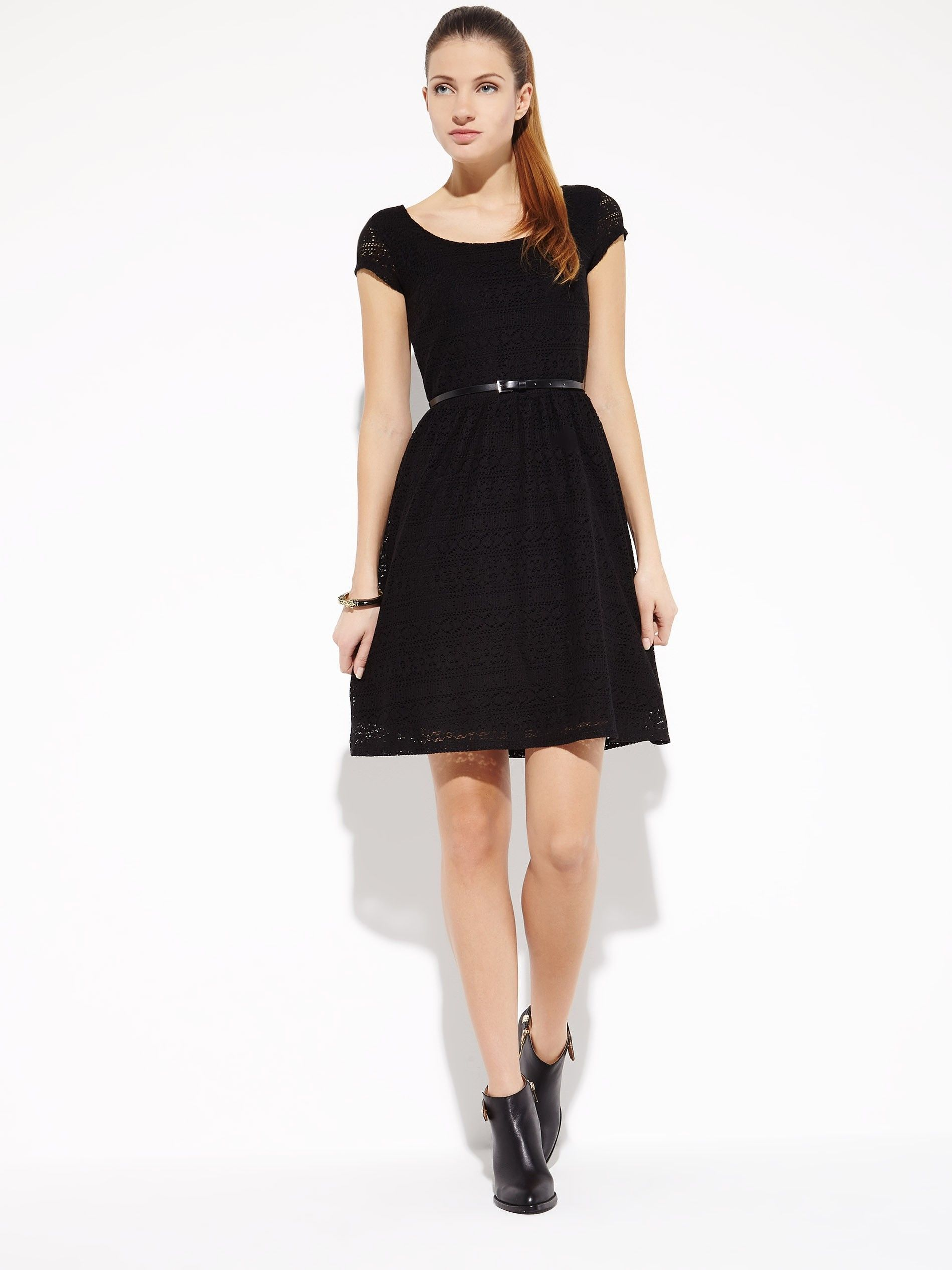 Sukienka Z Paskiem Dresses Fashion Little Black Dress