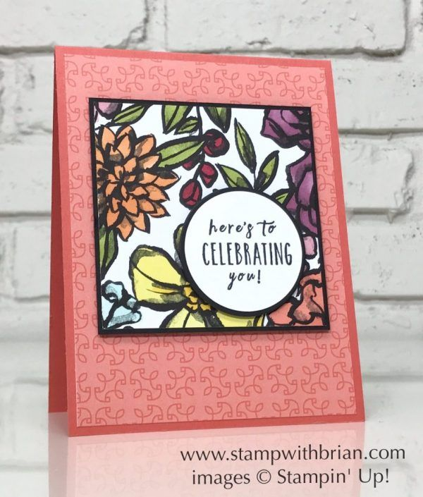 Perennial Birthday Petal Passion Designer Series Paper Stampin Up