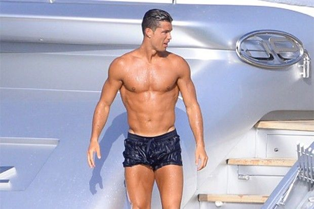 Please Enjoy These Photos Of A Shirtless Cristiano Ronaldo