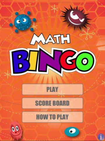 Math Bingo ($0.99) - One of the best apps for developing math skills in addition, subtraction, multiplication and division.