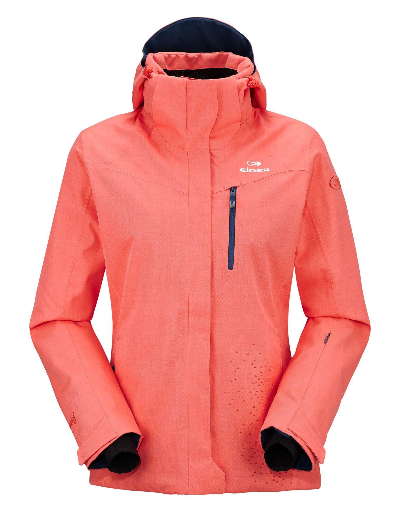 Veste ski femme eider rose