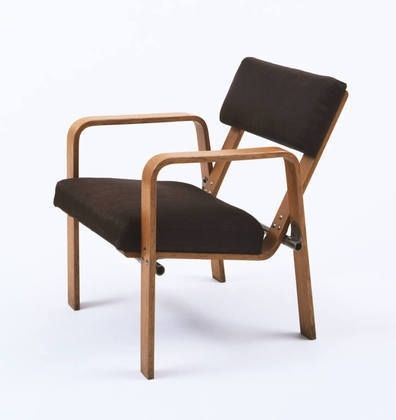Moma The Collection Josef Albers Armchair Model Ti