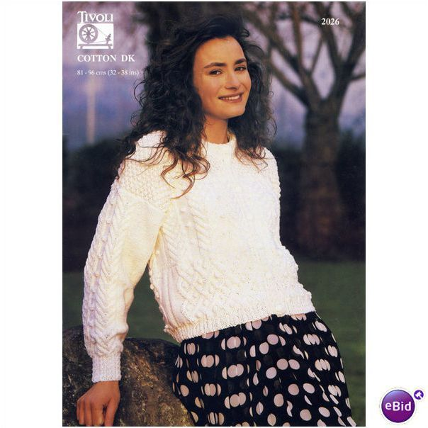 Ladies jumper sweater double knitting pattern womens dk tivoli ladies jumper sweater double knitting pattern womens dk tivoli patterns 2026 listing in the ladies dt1010fo