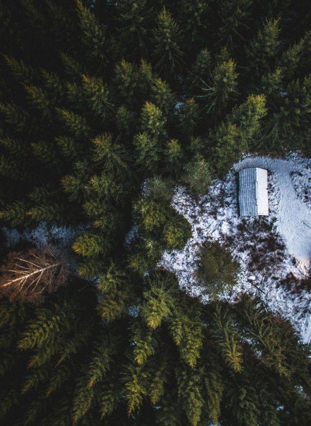 Fascinating Aerial Nature Photography By Tobias Hagg Fubiz Media