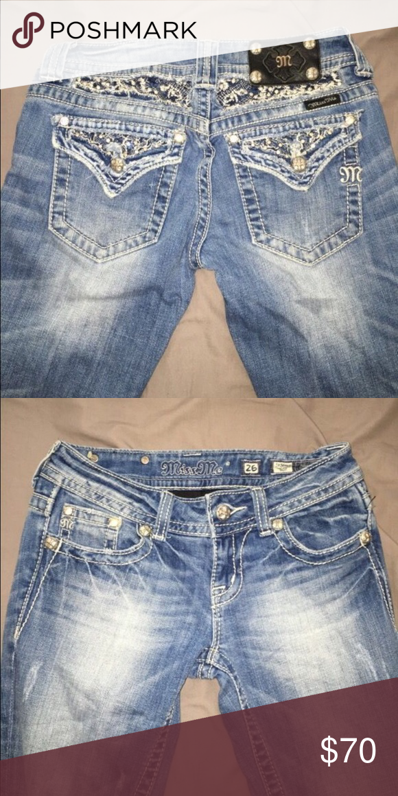 Miss Me Jeans Size 26/ Boot Cut Miss Me Jeans Boot Cut