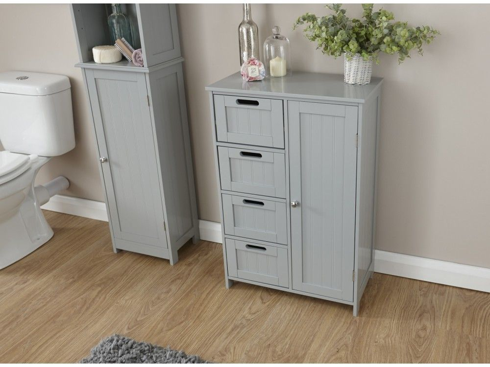Colonial Multi Bathroom Storage Cabinet Grey Or White Custom Bathroom Cabinets Bathroom Storage Grey Bathroom Furniture