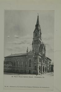 St Peter S Roman Catholic Church Philadelphia Pa Roman Catholic Church Roman Catholic Catholic Church
