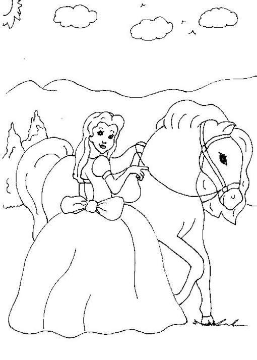 dibujo-colorear-horse-48.jpg (510×714)