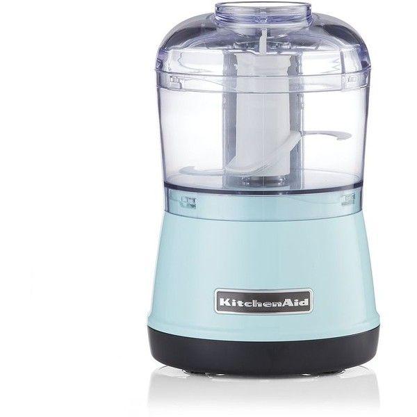 Crate & Barrel KitchenAid ® Ice Blue 3.5 Cup Food Chopper ...