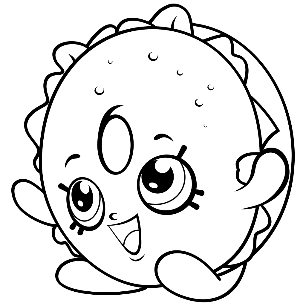 Petkins Dog Snout Shopkins Season 4 Coloring Pages Printable And Book To Print For Free Find More Online Kids Adults Of