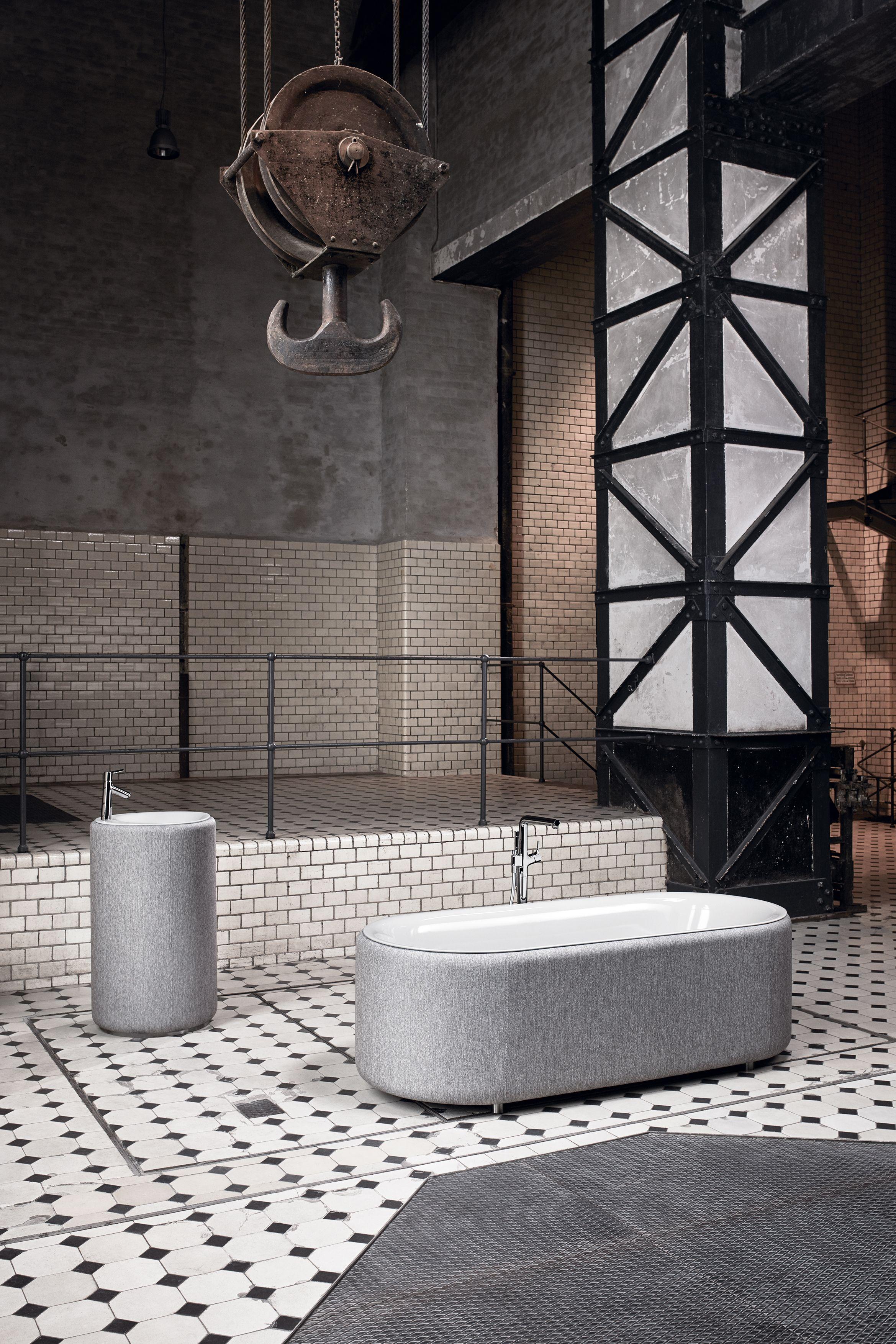 Carrelage Mural Salle De Bain Imitation Pierre ~ Bette Lux Oval Couture Une S Lection Www Hydropolis Fr Indus