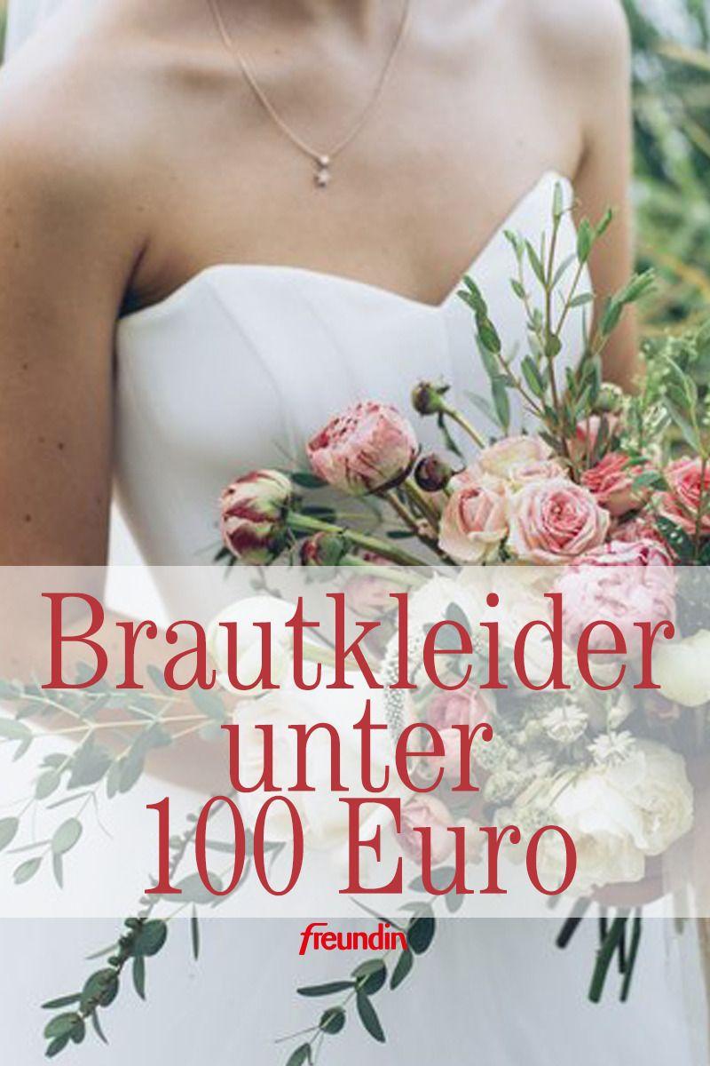 Budget Buy: Brautkleider unter 18 Euro  Braut, Low budget