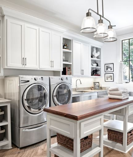 Now That S A Nice Laundry Room D Laundry Room Island