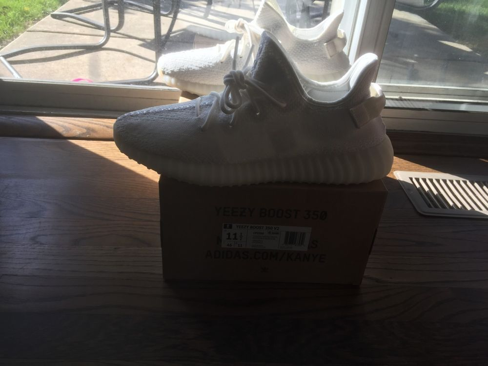 e7ac7875106a0 Adidas Yeezy Boost 350 v2 Cream Deadstock Size 11.5  fashion  clothing   shoes  accessories  mensshoes  athleticshoes (ebay link)