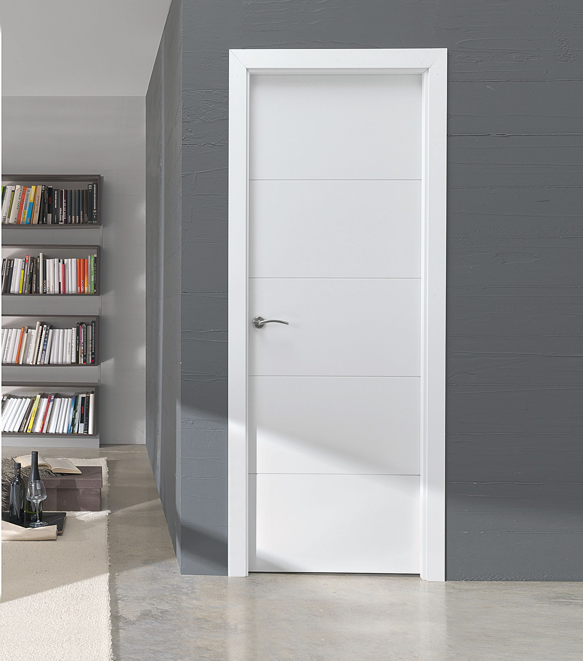 Puerta Lm Modelo Lucerna Doors Pinterest Puertas De Paso  ~ Precio Puerta Lacada Blanca Instalada